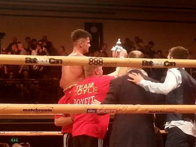 Johnny Coyle wins Prizefighter